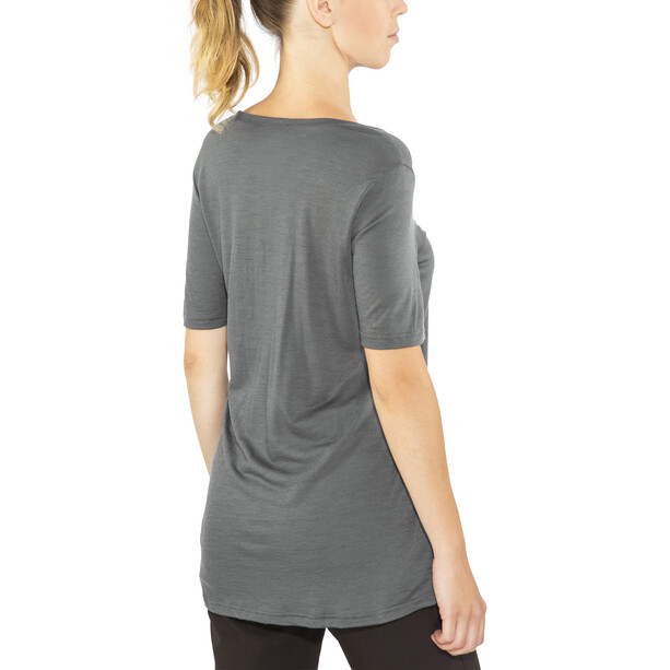 Aclima LightWool Loose Fit T-shirt Dam iron gate