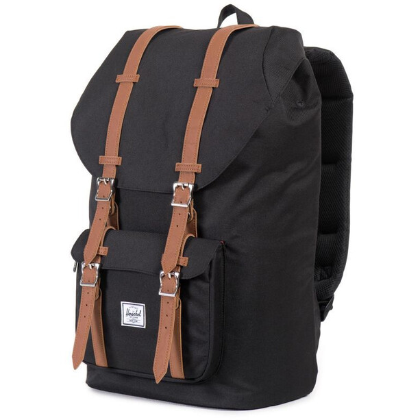 Herschel Little America Rucksack black/tan