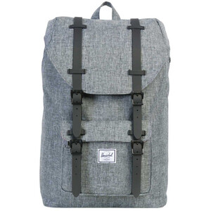 Herschel Little America Mid-Volume Backpack 17L raven crosshatch raven crosshatch