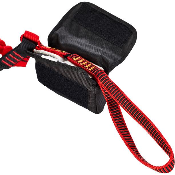 Stubai Basic Connect 2.0 Klettersteigset schwarz/rot