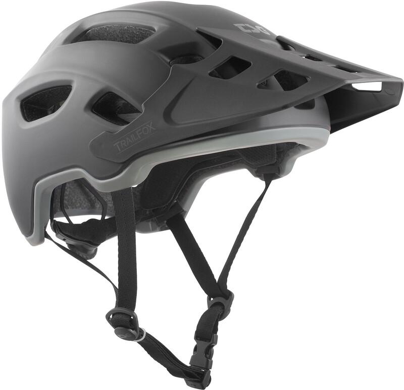 TSG Trailfox Solid Color Helmet satin black S/M | 54-56cm 2018 Fahrradhelme