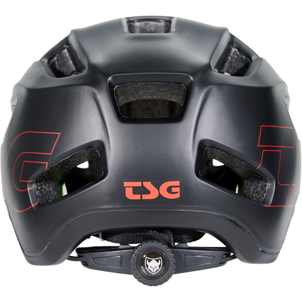 TSG Trailfox Graphic Design Helm fade to red