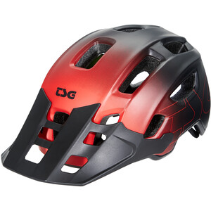 TSG Trailfox Graphic Design Helm fade to red fade to red