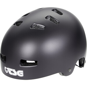 TSG Evolution Solid Color Helm satin black satin black