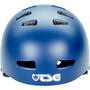 TSG Evolution Solid Color Helm blau