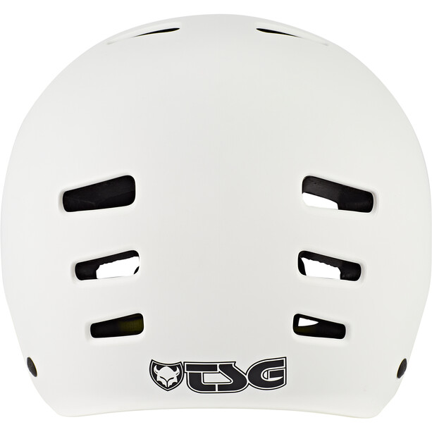 TSG Evolution Solid Color Helm satin white