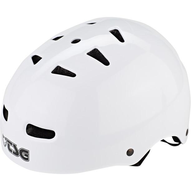 TSG Skate/BMX Injected Color Helm Herren injected white