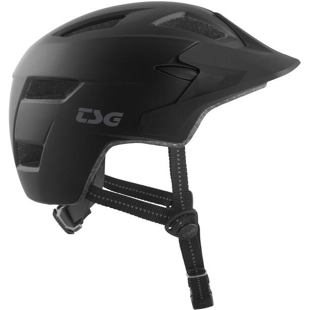 TSG Cadete Solid Color Helm Kinder satin black