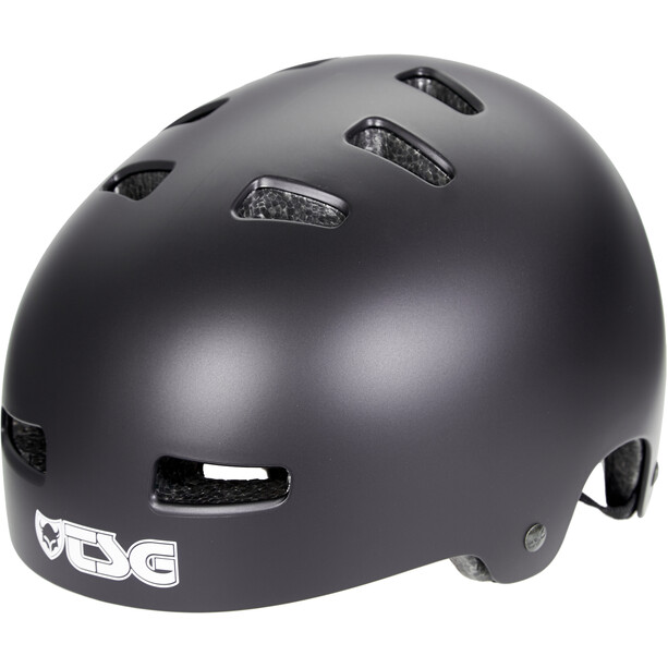 TSG Evolution Solid Color Helm Kinder satin black