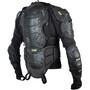 TSG Trailfox Backbone Protector Jacket, black yellow