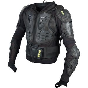 TSG Trailfox Backbone Protector Jacket, black yellow black yellow