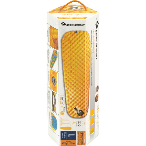 Sea to Summit Ultra Light Mat Large yellow