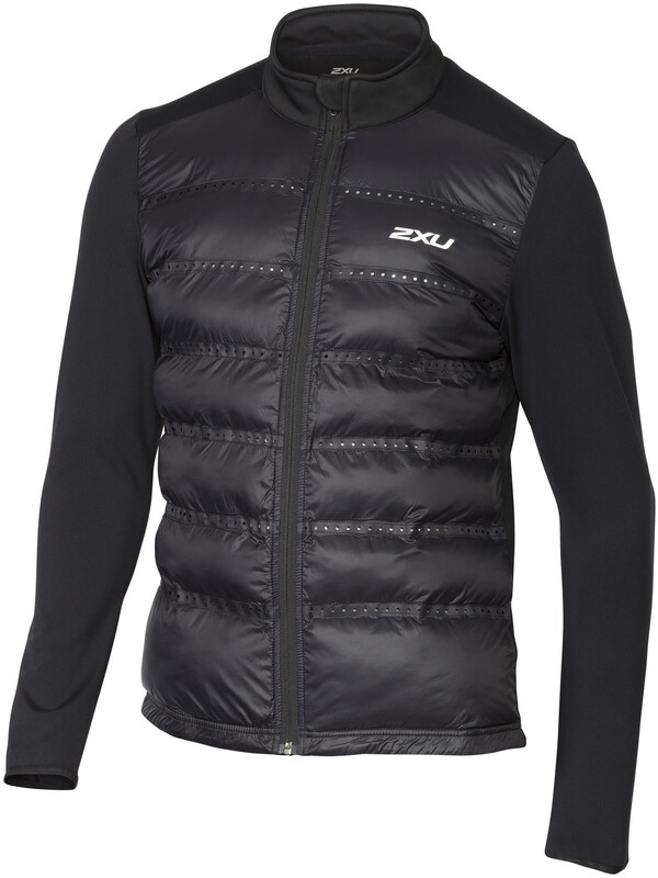 2XU M's Momentum Jacket Black/Black S 2018 Løpejakker