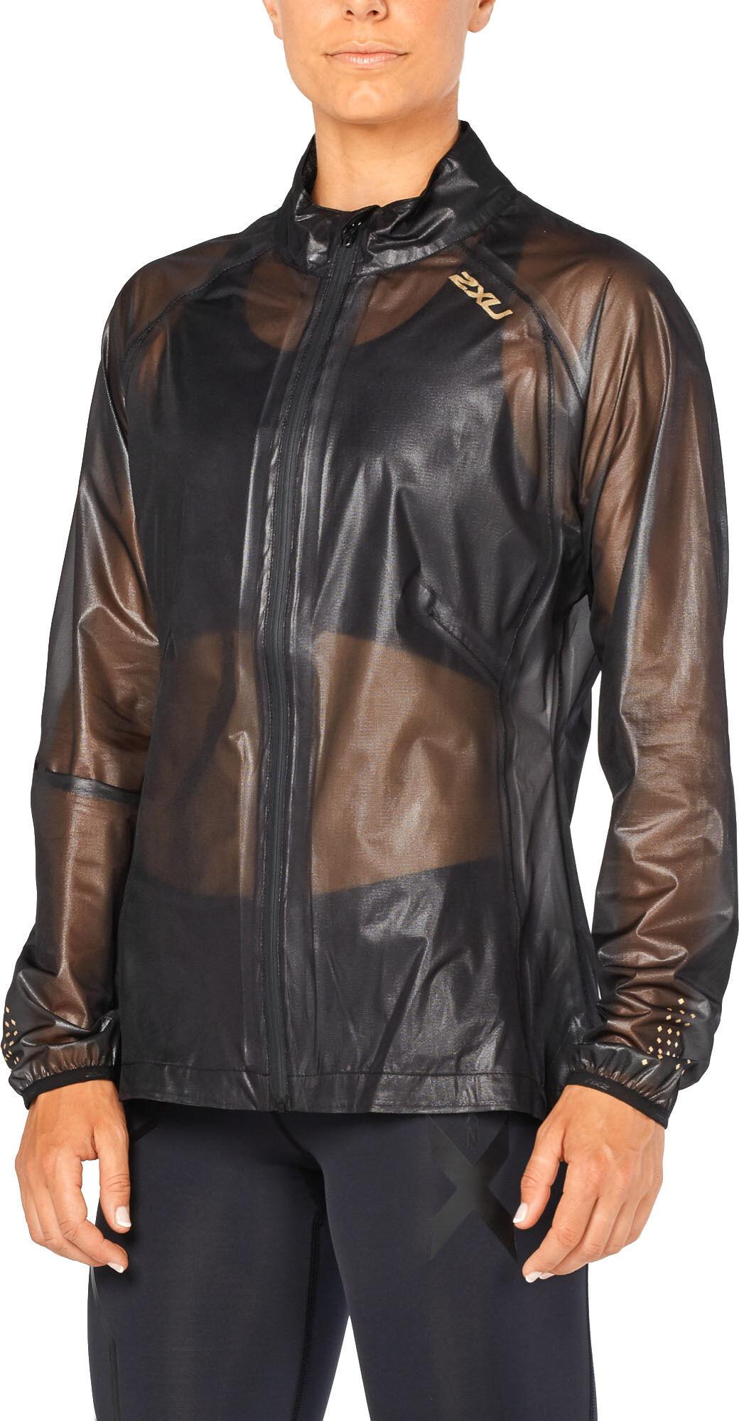 2XU GHST Membrane Jacket Dam blackgold