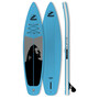 Indiana SUP 11'6 Family Inflatable Sup Pack with 3-Piece Fibre/Composite Paddle blue