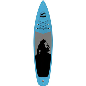Indiana SUP 11'6 Family Inflatable Sup Pack with 3-Piece Fibre/Composite Paddle blue blue