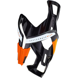 Elite Custom Race Plus Bottle Holder glossy black/orange design glossy black/orange design