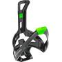 Elite Cannibal XC Bottle Holder glossy black/green design