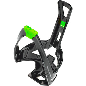 Elite Cannibal XC Bottle Holder glossy black/green design glossy black/green design