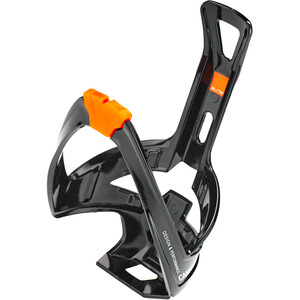 Elite Cannibal XC Bottle Holder glossy black/orange design glossy black/orange design