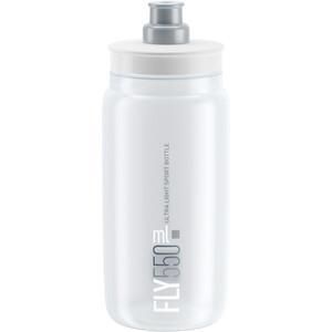 Elite Fly Drinking Bottle 0.5 l clear/grey logo clear/grey logo