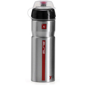 Elite Syssa Drikkeflaske 750ml, sølv/rød sølv/rød