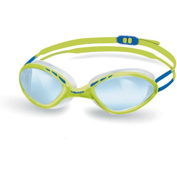 Head Tiger Race LiquidSkin Brille gelb/blau