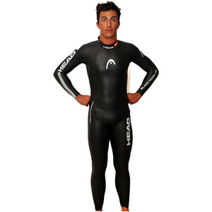 Head Black Marlin 4.3. 1,5 Tri Suit Men black/silver black/silver