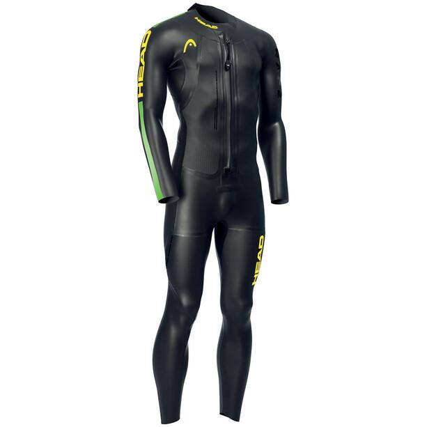 Head Swimrun Race 6.4.2.1,5 Combinaison Homme, black/brasil