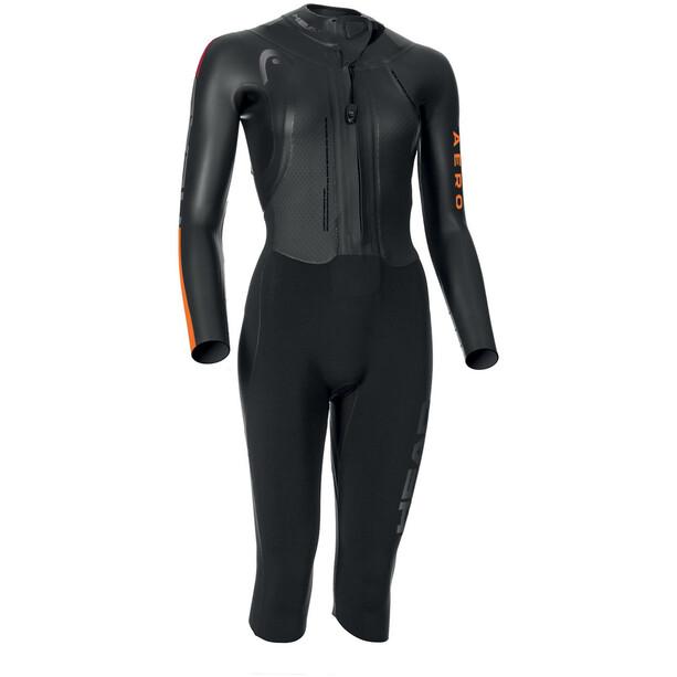 Head Swimrun Aero 4.2.1 Wetsuit Damen black/orange