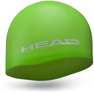 Head Silicone Moulded Badekappe grün grün