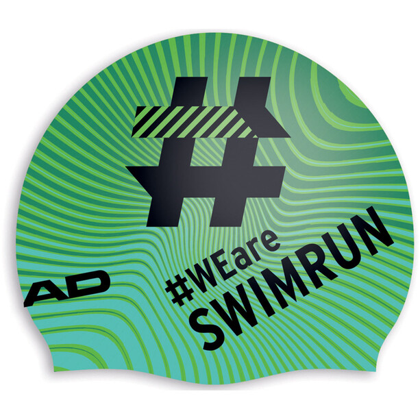 Head Hashtag Silcone Suede Cap swimrun