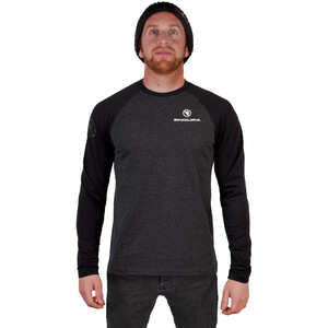 Endura One Clan Raglan Longsleeve Herr grey grey