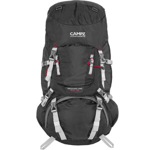 CAMPZ Mountain Pro 55+10l Backpack black black