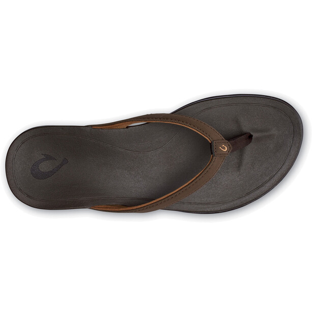 OluKai Ho'opio Sandals Dam dark java/dark java