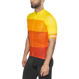 Red Cycling Products Colorblock Race Kortærmet cykeltrøje Herrer, red-yellow red-yellow