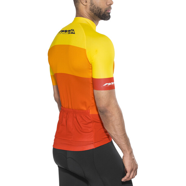 Red Cycling Products Colorblock Race Trikot Herren red-yellow