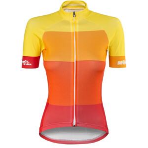 Red Cycling Products Colorblock Race Trikot Damen red-yellow red-yellow