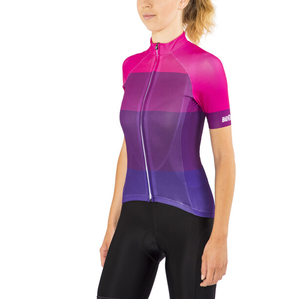 Red Cycling Products Colorblock Race Jersey Dam purple-pink