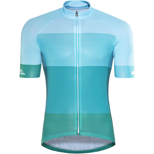Red Cycling Products Colorblock Race Jersey Herr green-blue green-blue