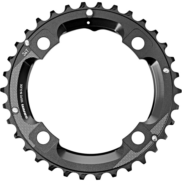 SRAM MTB GX Chainring 10-speed M-pin 104mm black