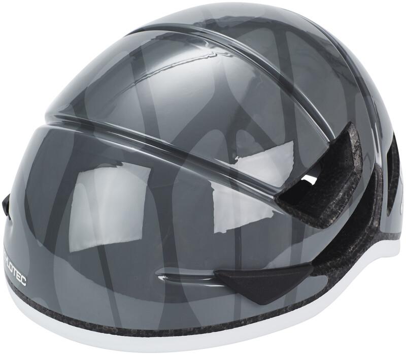 Skylotec Grid Vent 55 Helmet grey 48-55cm 2018 Hjelmer