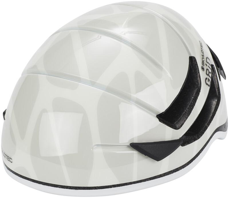 Skylotec Grid Vent 55 Helmet white 48-55cm 2018 Hjelmer
