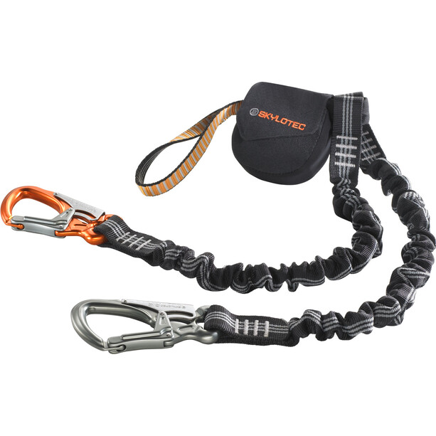 Skylotec Skysafe Duro Via Ferrata Set orange/black/grey
