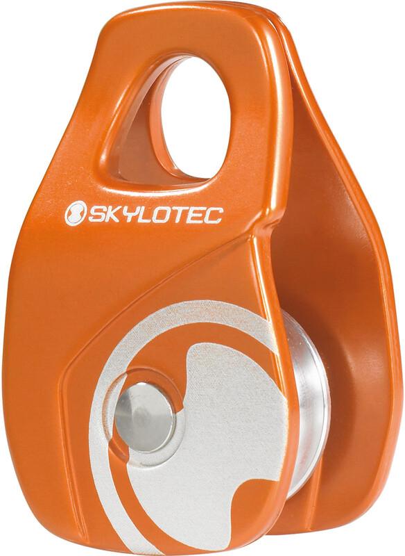 Skylotec Mini Roll Rope Pulley orange  2018 Taljer og trinser