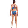 Funkita Sports Bas de maillot de bain Femme, bleu/rouge