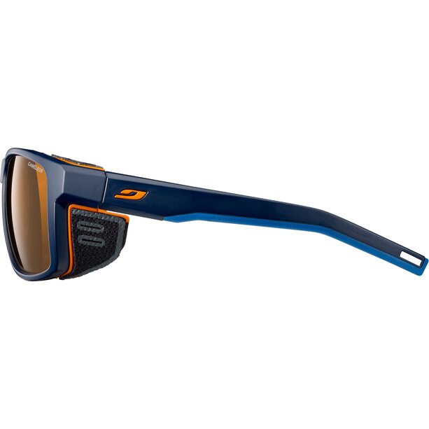 Julbo Shield Cameleon Solbriller, blå/orange