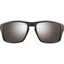 Julbo Shield Alti Arc 4 Sonnenbrille black/red/red-brown flash silver