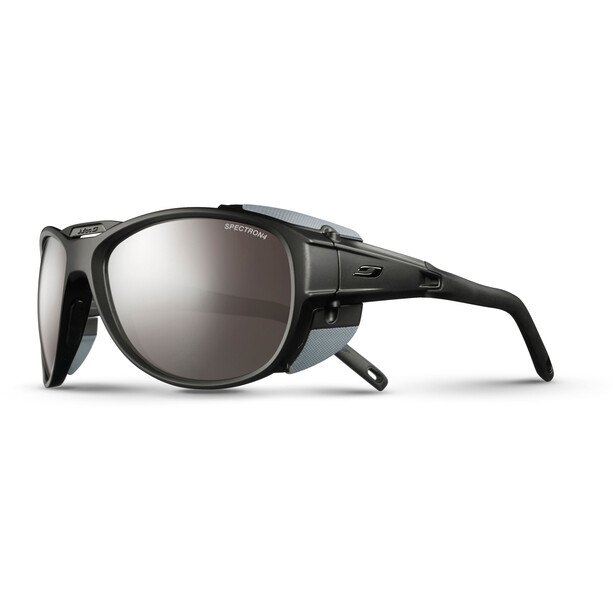 Julbo Exp*** 2.0 Spectron 4 Sonnenbrille matt black/gray-brown flash silver