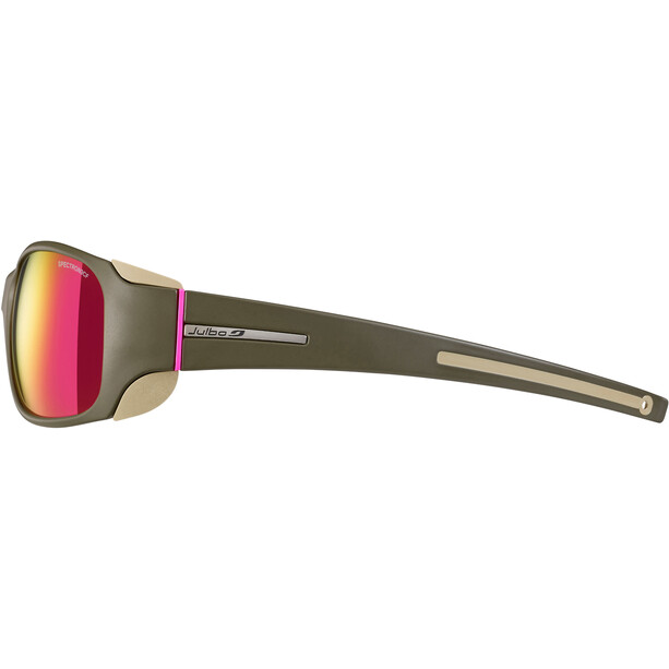 Julbo Monterosa Spectron 3CF Sonnenbrille Damen army/camel/pink-pink